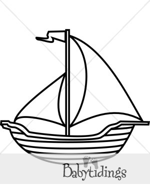 300x388 Drawn Sailboat Black And White