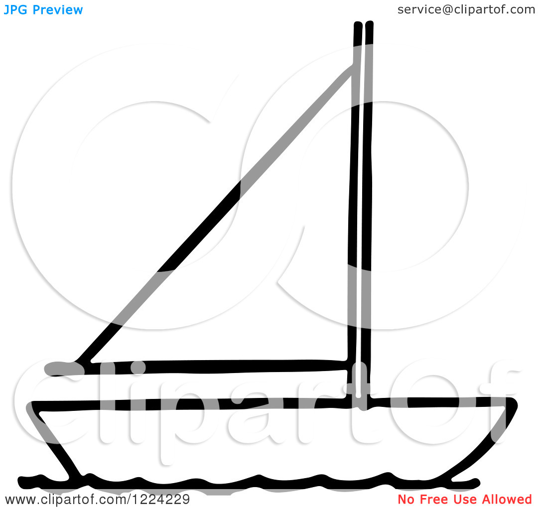 1080x1024 Sail On Sailboat Clipart