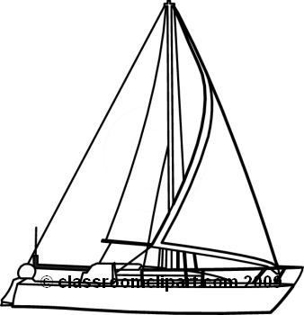 338x350 Sailboat Black And White Boats Clipart Black And White Free