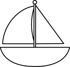 236x225 Sailing Boat Clipart Black And White