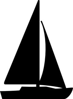 Sailboat Clipart Black And White | Free download on ClipArtMag