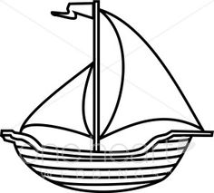236x213 Black And White Sailboat Clipart