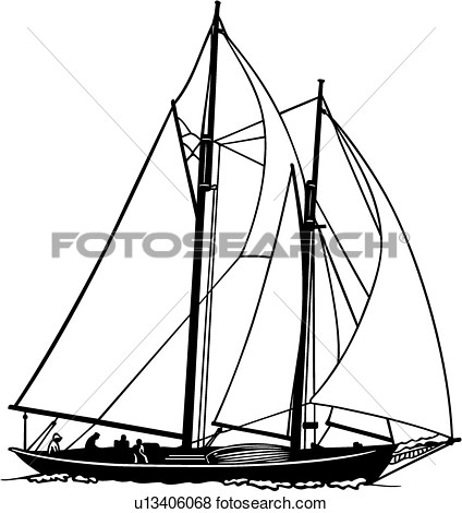 424x470 Sailboat Clip Art