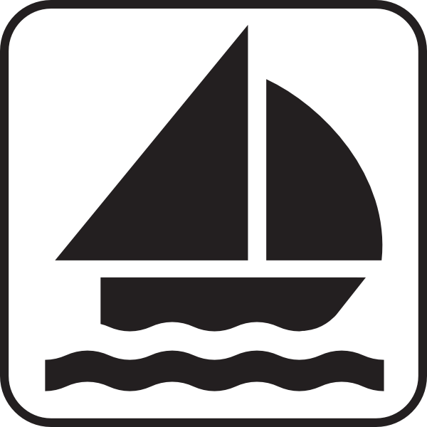 600x600 Boat Sailing Clip Art Free Vector 4vector