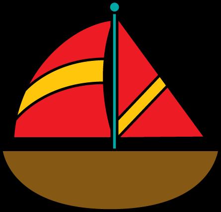 445x425 Sailboat Clipart 0 Sailboat Boat Free Clip Art 2