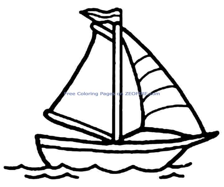 Sailboat Drawing For Kids Free Download Best Sailboat Drawing For