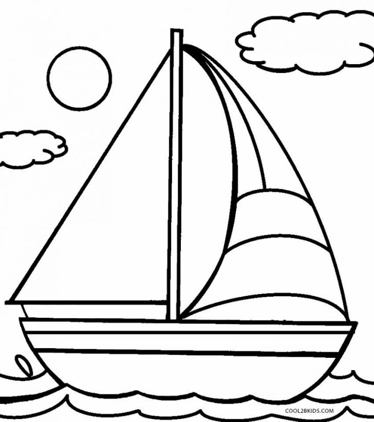 728x822 Adult ~ Boat Coloring Pages Boat Page Sailboat Sheet Boat Coloring