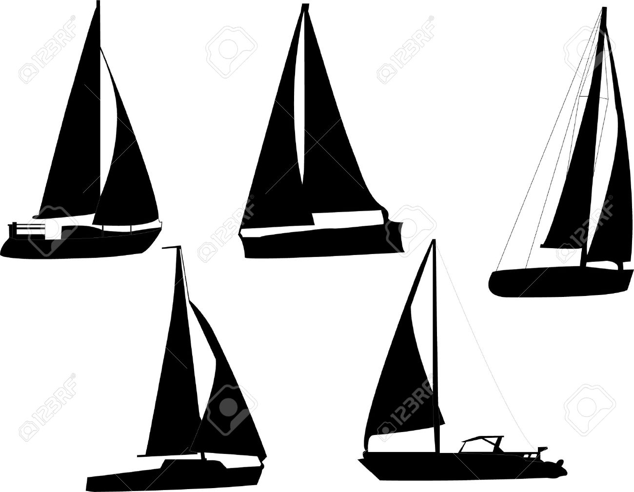 1300x1009 Race Boat Stock Illustrations, Cliparts And Royalty Free Race Boat