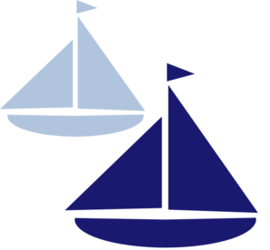 298x276 Sailboat Silhouette Clip Art