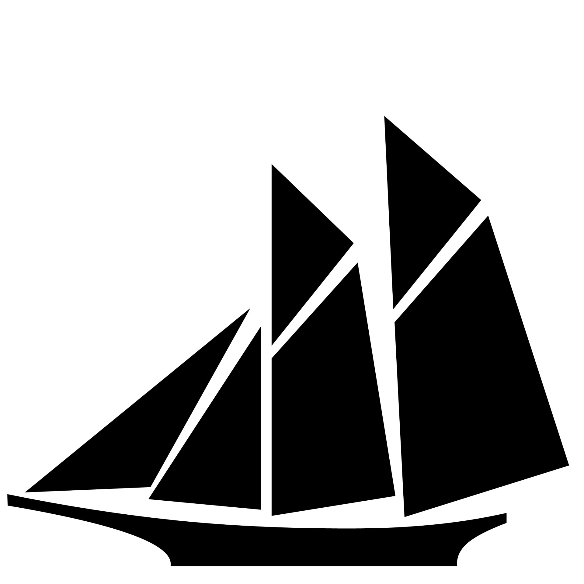 1920x1920 Sailboat Silhouette Free Stock Photo
