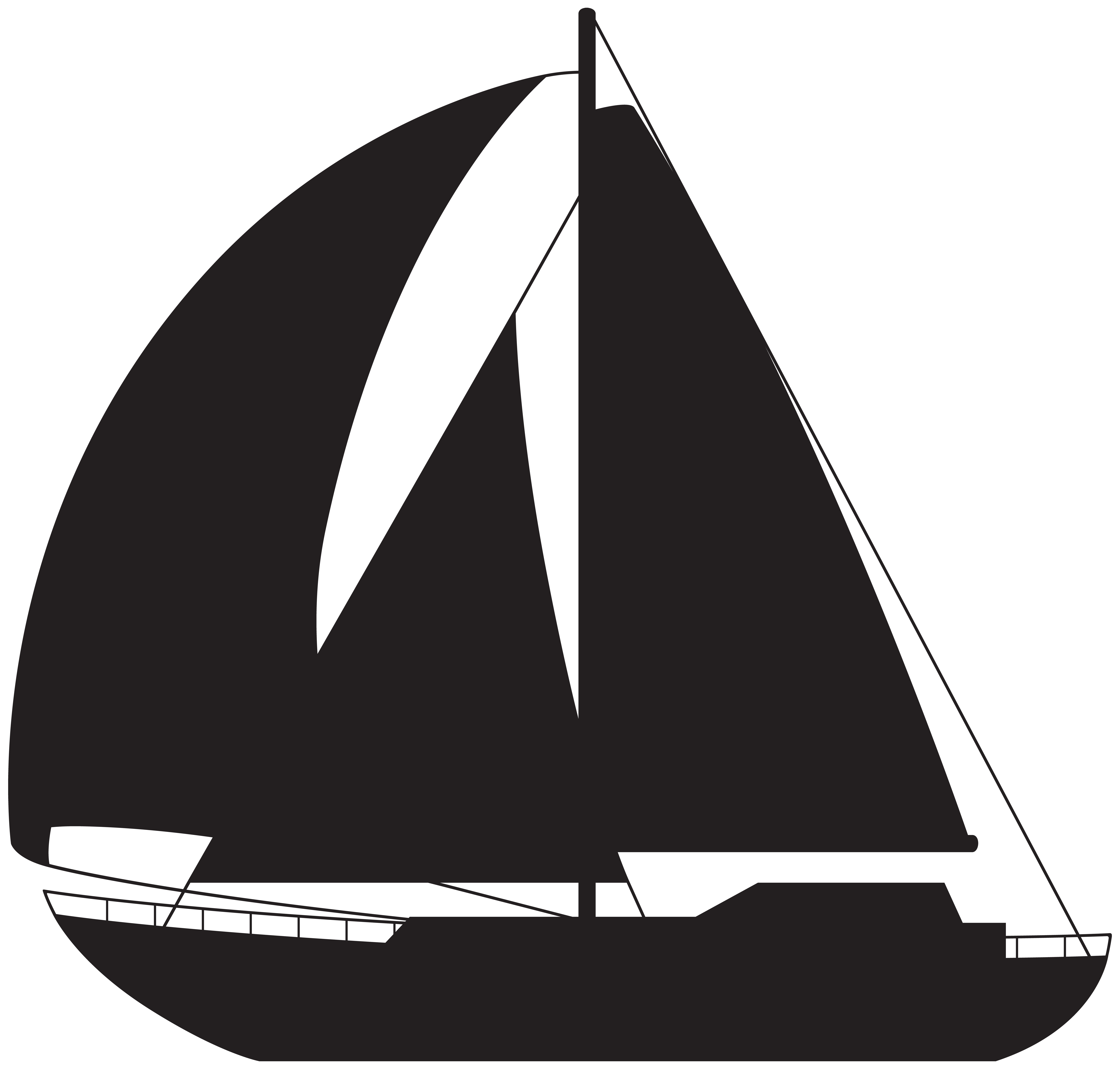 8000x7636 Sailboat Silhouette Png Clip Art Imageu200b Gallery Yopriceville