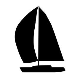 270x270 Sailboat Silhouette Stencil Free Stencil Gallery