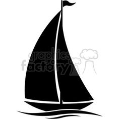 236x236 Sailboat Silhouette Clip Art. Download Free Versions Of The Image