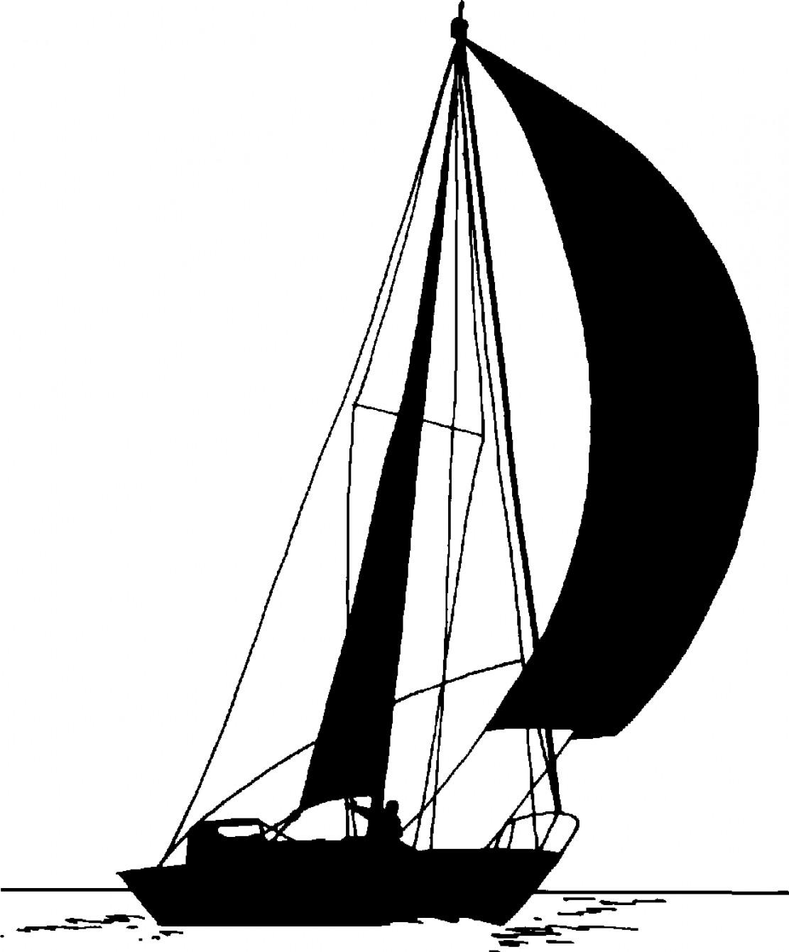 1111x1340 Clip Art Sailboat Silhouette Clip Art