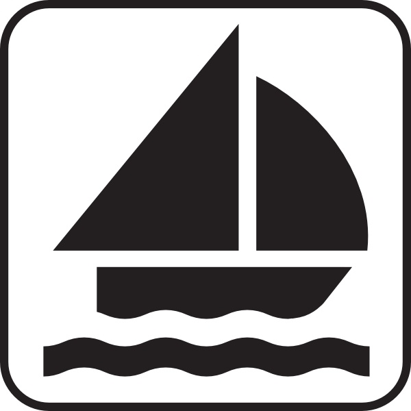 600x600 Boat Sailing Clip Art Free Vector In Open Office Drawing Svg
