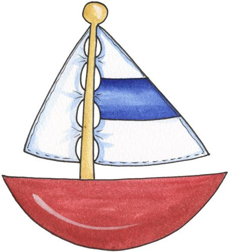 Sailboat Silhouette Clipart