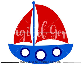 340x270 Sail Boat Svg Etsy