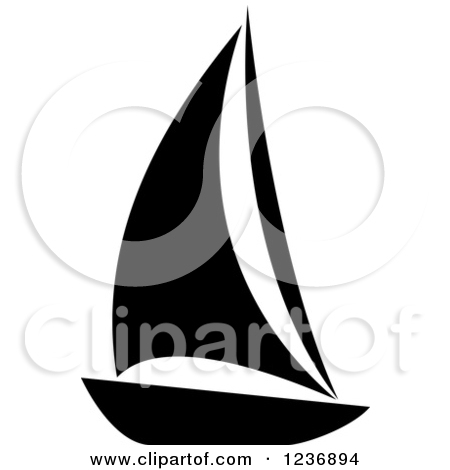 450x470 Sailing Clipart Vector