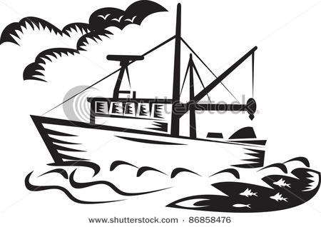 450x318 Ship Clipart Shrimp Boat