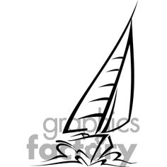 236x236 How To Draw A Sailboat Diy Tattoo, Doodles