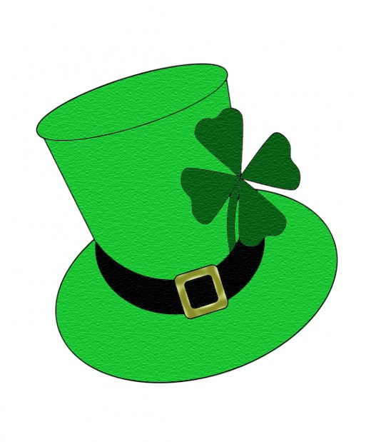 520x619 St. Patrick's Day Clipart St Patricks Day Hat Clipart