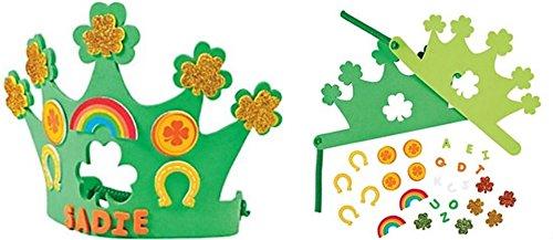 500x217 Shamrock Puppy St. Patrick's Day Craft Activity