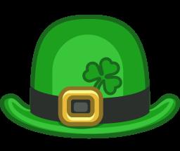 256x215 Free St. Patrick Hat Clip Art