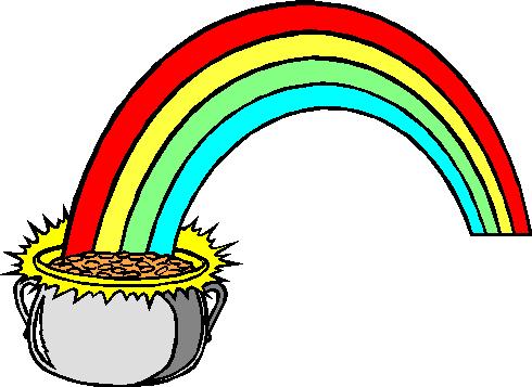 490x357 Rainbow Clipart St Patricks Day