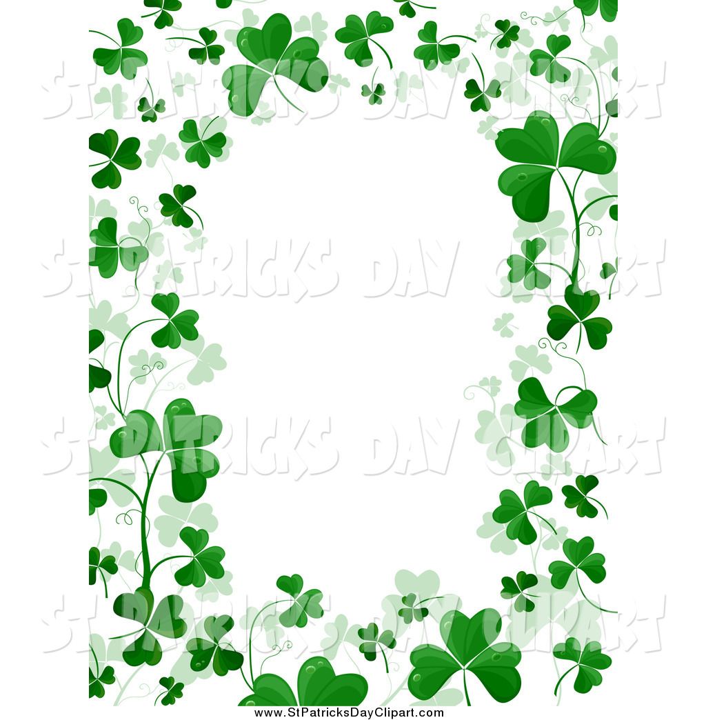 1024x1044 St. Patrick's Day Clipart St Patrick's Day Border Clipart