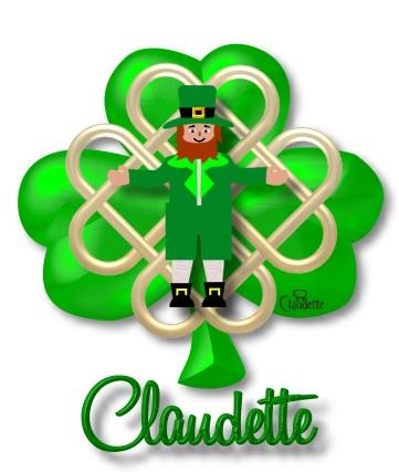 361x427 Claudette's St Patricks Day Graphics