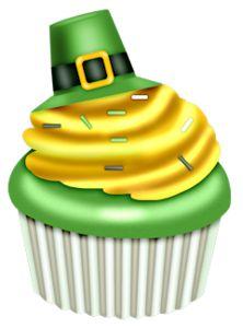 222x300 Cupcake Clipart St Patricks Day