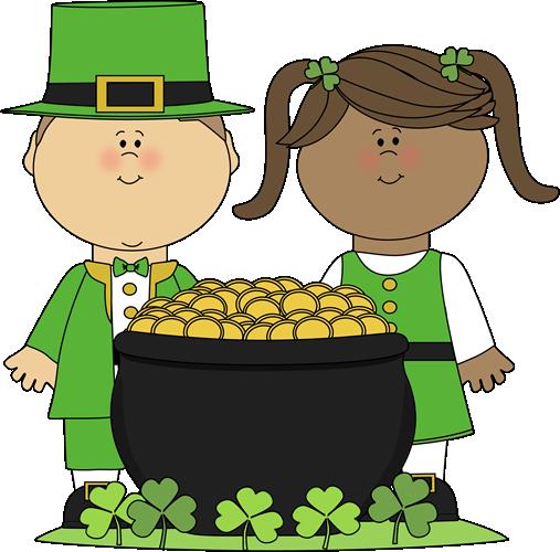 507x500 Saint Patrick's Day Kids Clip Art
