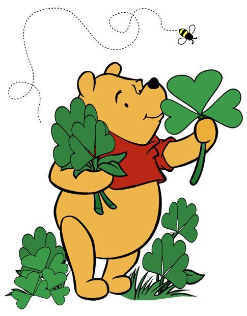 485x620 Gotta Love Pooh !!! St. Patrick's Day Saints