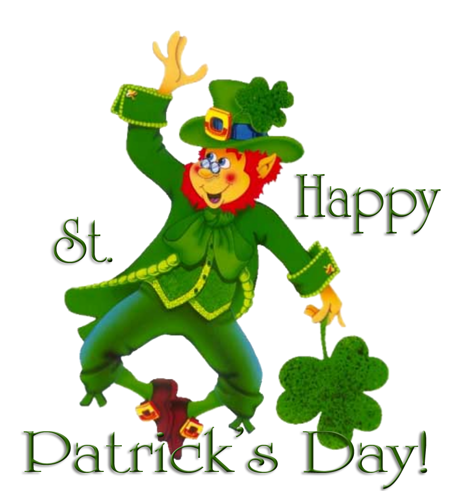 This is a graphic of Divine Free Printable Clipart for St Patrick's Day
