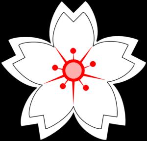 300x288 Flower Drawing Clip Art