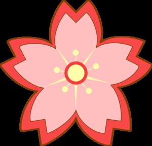 300x288 Top 79 Sakura Flower Clipart