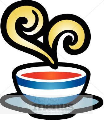 337x388 Soup Clipart Hot Soup