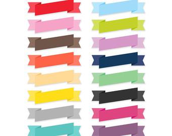 341x270 Banner Clip Art Ribbon Clip Art Border Clip Art Digital