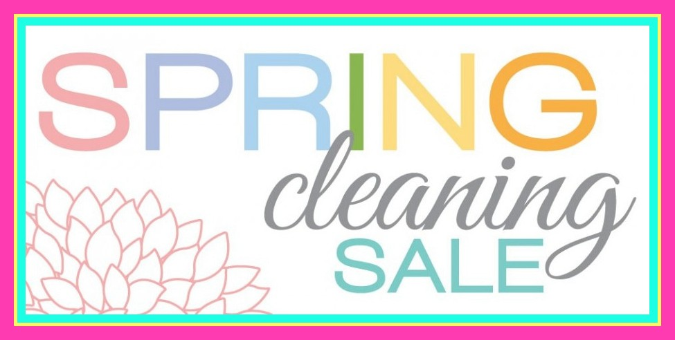 975x492 Spring Cleaning Sale! 30% Off Storewide