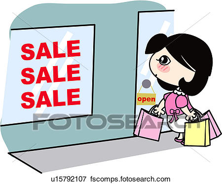 450x373 Clip Art of person, holding, people, shop, shopping bag, sale