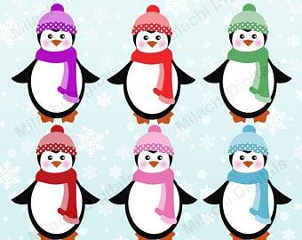 340x270 Penguin clip art Etsy