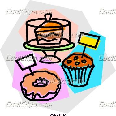 375x375 Clip Art Woman Baking Goods Clipart