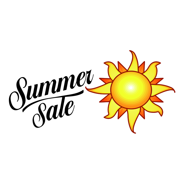 745x745 Microsoft Summer Sale Free Vector 4vector