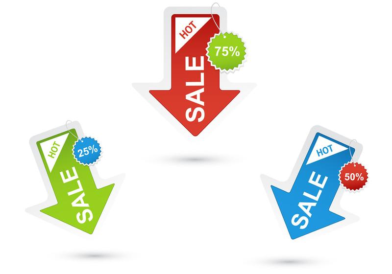 800x560 Sale Free Vector Art