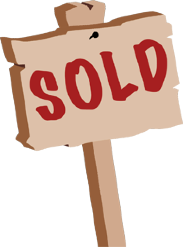 640x861 Free Sold Sign Clipart Image