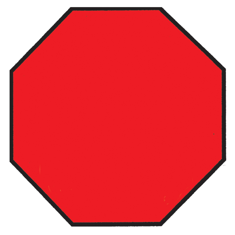 760x760 Free Stop Sign Clip Art