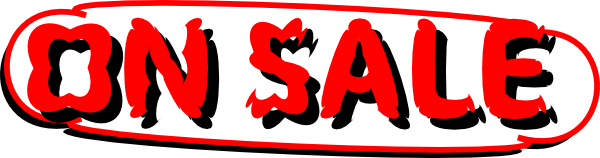 600x158 Sale Sign Clip Art