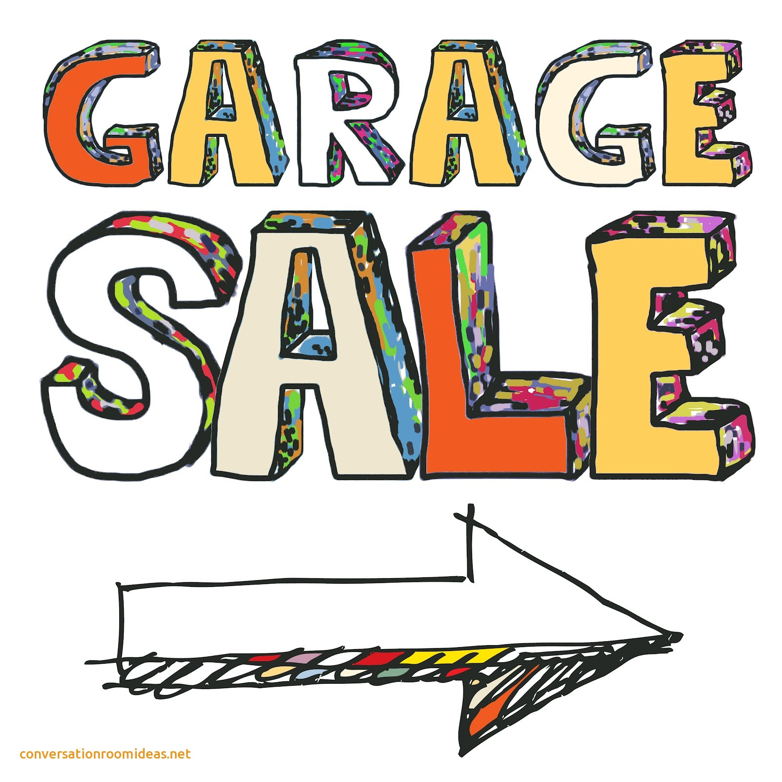 1600x1600 Beautiful Garage Sale Signs
