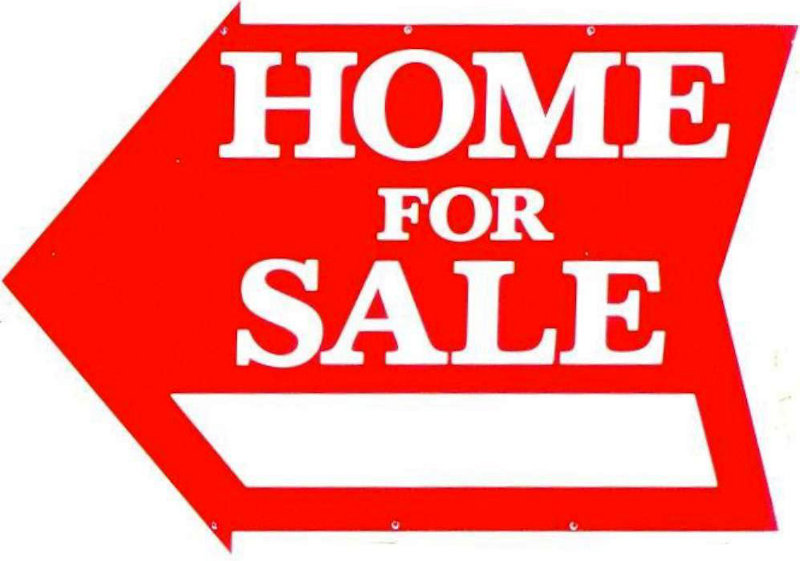 800x561 Home For Sale 12 X 23 Hand Shaped Sign Red Realty Supply Center
