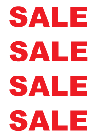 200x283 Retailer Sale Signs Retail Signage Copy Direct